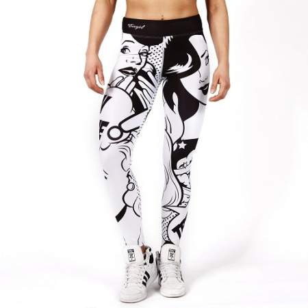 TREC WEAR LEGGINSY - TW LEGGINGS TRECGIRL 11