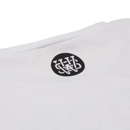 WAKE UP AND SQUAT - ACTIVE TANK TOP LONG (WHITE)