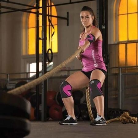 Rehband - stabilizator kolana 105333 Rx 5 mm różowy