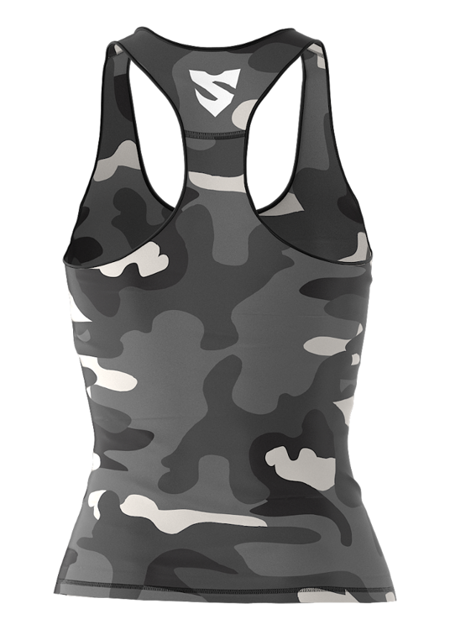 SMMASH - FIT TANK CAMO