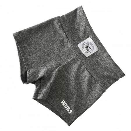 SPODENKI WAKE UP AND SQUAT SHORTS - GREY/WHITE