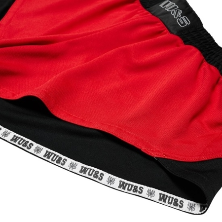 WAKE UP AND SQUAT - COOLMAX SHORTS (RED)