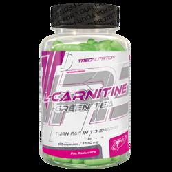 TREC NUTRITION L-CARNITINE + GREEN TEA - 90 CAP