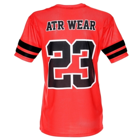 ATR WEAR - Bella red American Football Jersey
