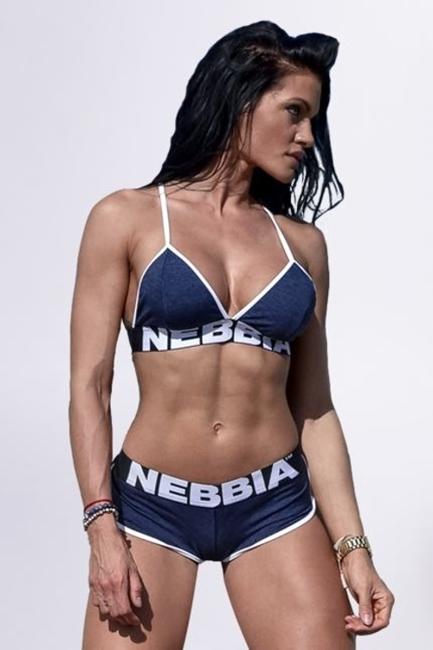 NEBBIA - BIUSTONOSZ FITNESS MODEL N267 BLUE